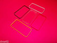 5 PACK CELL PHONE CASES RED YELLOW PINK BLACK  WHITE FITS APPLE  I5  GREAT PRICE
