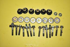 05 Volvo XC90 Engine Valve Cover Bolts O-Rings V8 Oil Fill Side OEM