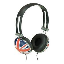 Sound Lab A081 Union Jack Stereo Headphones