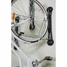Vertical Bike Storage Rack Bicycle Fender Indoor Wall Mount Swivel Holder Folds