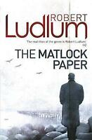 The Matlock Paper by Robert Ludlum (Paperback, 2010)