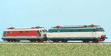 Rivarossi HR 2432 coppia locomotive E 444R livrea rosso e grigia + livrea XMPR