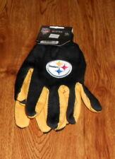 McArthur Pittsburgh Steelers Sport Utility Gloves Medium Super Fast Shipping