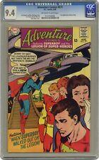 Adventure Comics #371 CGC 9.4 1968 0127928006