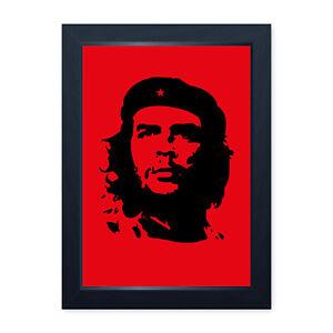 Che Guevara, Retro Framed Or Frameless Poster Print Home Decor Wall Art Man Cave