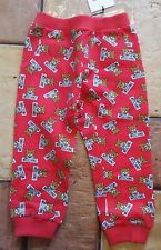 moschino teddy all over print joggers