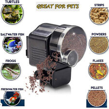 Automatic Fish Food Feeder Timer For Aquarium Tank Pond Flake Pellet Feeding