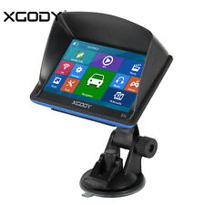 "Newest XGODY 5"" SAT NAV Car GPS Navigation System AU EU Maps Free Update 2017"