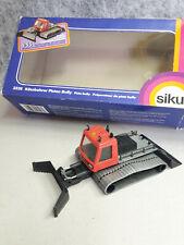° Maquette de voiture NOUVEAU Blister Siku 1037 pistenbully p 600 rouge