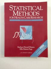 Statistical Methods for Health Care Research - Barbara Munro (1993, Paperback)