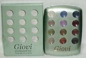GIOVI Professional Eyeshadow Palette 12 Shade Of Salon Xtreme Colors Sealed RARE