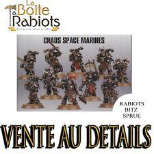 Warhammer 40000 Space marines du Chaos Vente au détails Rabiots Bitz Sprue