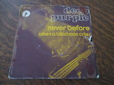 45 tours DEEP PURPLE never before