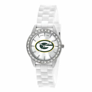 Game Time Watch - Women's Frost Series Green Bay Packers Silicone