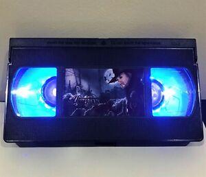 The Undertaker WWE WWF VHS Night Light, Desk Lamp, Led, Bedroom Lamp, TV, Kids