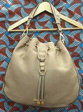 DUNE LONDON Ladies Womens Bag Large Beige Hobo Drawstring Handbag