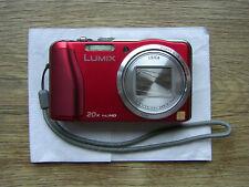 Panasonic LUMIX DMC-TZ31 14,1 MP Digitalkamera - Rot, TOP ZUSTAND!!!