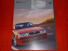 SKODA Octavia RS Prospekt von 4/2001