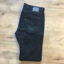 """Levi's Jeans Negros 34"""" Cintura 34"""" pierna"""