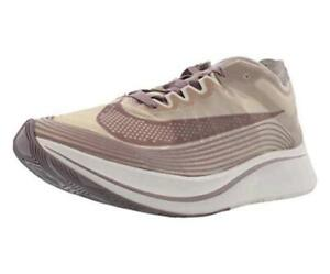 Nike Mens Nikelab Zoom Fly SP Low Top Lace Up Running Sneaker, Brown, Size 9.0