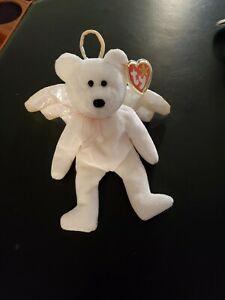 Rare TY Retired Beanie Baby Halo - Brown Nose, Mint Condition!