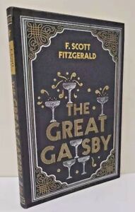 THE GREAT GATSBY by F. Scott Fitzgerald ~ NEW Flexi-Bound w/ Ribbon Page Marker~