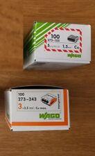 boite de 100 connecteurs Wago