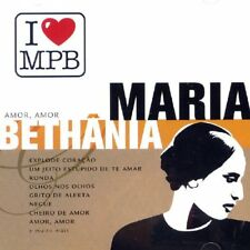 I Love MPB: Amor, Amor cd Maria Bethânia (2004, Brazil) NEW Sealed OOP BETHANIA