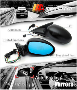 M5 Style Auto Folding Electric Heating Side Mirrors fit for BMW E39 5 Series RHD