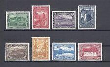 AUSTRALIA/TASMANIA 1899-1900 SG 229/36 MINT Cat £150