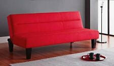 Red Futon Frame and Mattress Set for sale   eBay
