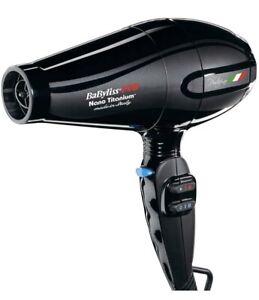 Babyliss Pro Nano Titanium Portofino 6600 Hair Dryer (BNT6610)