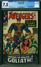 Avengers #28 CGC 7.5 -- 1966 -- 1st app Collector. Giant Man Goliath #2030266014