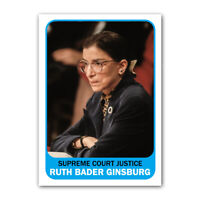 Ruth Bader Ginsburg RBG 1960s Style Supreme Court Collectible Trading Card
