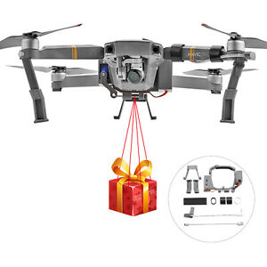 For DJI Mavic Pro Drone Accessories Air-Dropping Thrower Delivery Device A2UK