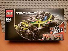LEGO TECHNIC/42027 DESERT RACER/RARO/Pull Back/Nuovo Con Scatola Nuovo Sigillato ✔ Fast P & P ✔