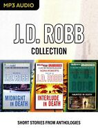 J. D. Robb - Short Stories from Anthologies  - Unabridged Audio Book - MP3CD