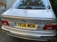 Bmw E39 Artic Silver Breaking