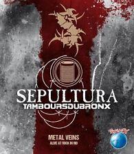 """Sepultura """"Venas De Metal-vivos al Rock en Río' 2x12"""" Vinilo Verde/Amarillo-Nuevo"""
