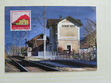 LIECHTENSTEIN 2010 RAILWAY STATION NICE MAXIMUM CARD/dc305