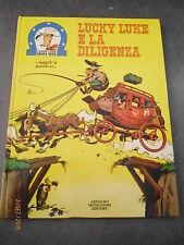 LUCKY LUKE E LA DILIGENZA - MONDADORI - VOLUME CARTONATO - 1° ed. 1973