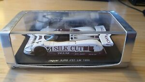 Spark 1:43 Jaguar XJR-6 1986 Le Mans 24 Hours #51 Warwick / Cheever / Schlesser