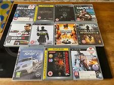 11x SONY Playstion PS3 GameBundle Nascar Saints Row 2 Resistance Cod Far Cry Etc