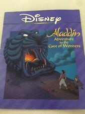 Disney 'Aladdin Adventure In The Cave Of Wonders' (PB,1994) 24 Pgs.