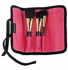 Sephora Touch and Gold Travel Brush Set Makeup Travel w/pouch*$56 Value*