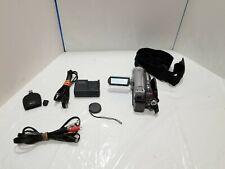 Panasonic VDR-D100 Mini DVD Palmcorder Camcorder 30X Optical Zoom w/ Accessories