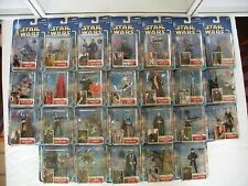 Star Wars SAGA Collection 2 ~ 26 in total ~ 2002 ~ NEW