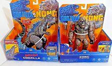LOT MonsterVerse Godzilla v Kong:BATTLE ROAR GODZILLA AND Kong w/ Axe*see descrp