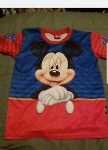 Disney Mickey Mouse & Friends Cool Planet XL  Child's Shirt  Colorful
