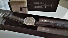 Kronsegler Dr. House pulsometer chronograph reloj pulsera pulsera de cuero SW Black